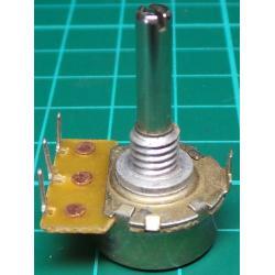 Potentiometer, 10K, Log, THT, 4x15mm Shaft