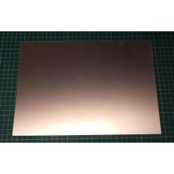 laminate, FR4, 0.6 mm, L: 297 mm, W: 210 mm, Coating: Copper