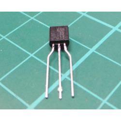 Transistor: NPN, bipolar, Darlington, 30V, 500 mA, 625mW, TO92