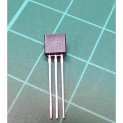 Transistor: PNP, bipolar, 400V, 300 mA, TO92