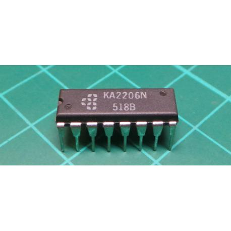 KA2206, 4W Stereo Amplfier *New Photo needed