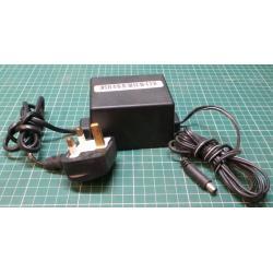 USED PSU, 30V, 0.4A, UK Input, Barrel Output Connector