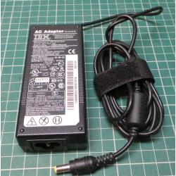 USED PSU, 16V, 4.5A, Cloverleaf (Mickey Mouse) Input, Barrel Output Connector