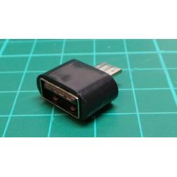 Host OTG Adapter Converter Micro USB Male to USB 2.0 For Android Tablet