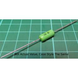Resistor, 4K7, 5%, 1W, green