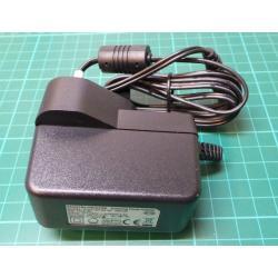 PSU, UK Plug, 5V, 2.5A, Barrel Connector