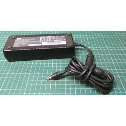 Used PSU, 18.5V, 6.5A, Cloverleaf Input, Barrel Output