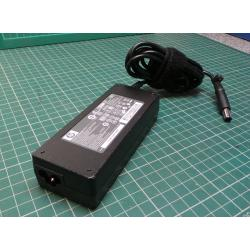 Used PSU, 19V, 4.74A, Cloverleaf Input, HP Style (Barrel with Pin) Output