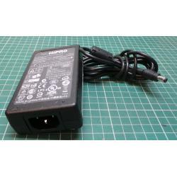 Used PSU, 12V, 4.16A, IEC Input, Barrel Connector Output
