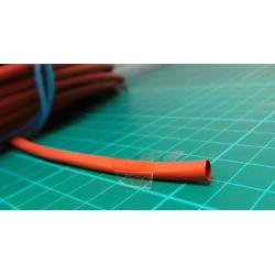 5.0/2.5mm, Heatshrink, red