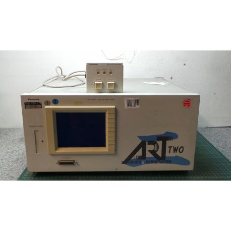 audio and radio tester, panasonic, VP-7612A, powers up ok, comes with remote controler