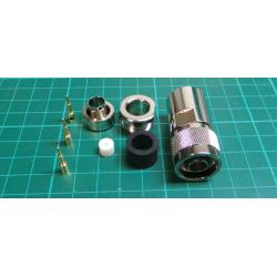 N Type Connector for W103 Microwave Coax