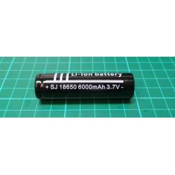 18650 Li-ion Battery + WF-139 UK Charger Flashlight D
