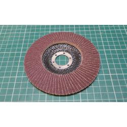 Sand Paper Flap disc, 125mm, P120