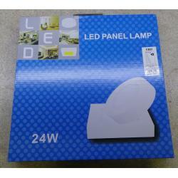 Podhledové světlo LED 24W, 300x300mm, bílé, 230V/24W, přisazené