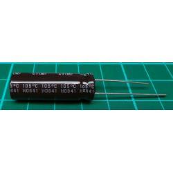 Capacitor, 22uF, 400V, Radial, Electrolitic