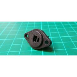 2 Pin Din speaker connector, Female, Panel Mount