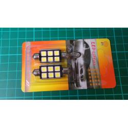 Žárovka LED SV8,5-8 sufit, 12V/2,5W, bílá,CAN-BUS, délka 41mm