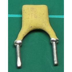 Capacitor, 10nF, Disc, Ceramic, Short Legs