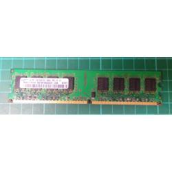 USED, DIMM, DDR2-667, PC2-5300, 1GB