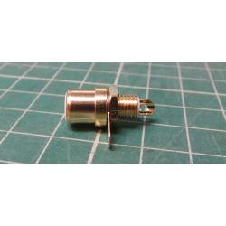 Gold plated RCA / Phono socket white