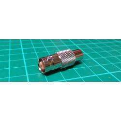 BNC Socket to Phono Adaptor