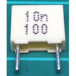 Capacitor, 10nF, 100V, Polyester Film
