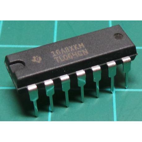 TL074CN, Quad JFET Op Amp