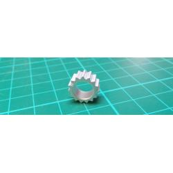 Heatsink: pressed, TO5, H: 6mm, 63K / W, aluminum