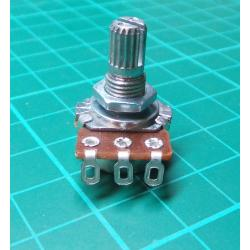 Potentiometer: axial, single turn, 50kΩ, 125mW, ± 20%, on cable
