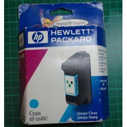 HP, 51640C, Cyan