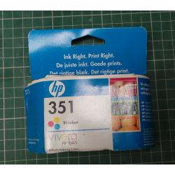 HP, 351, Tri-colour